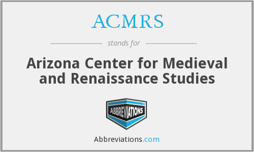 What does ACMRS stand for?