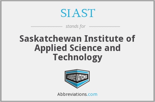 What does SIAST stand for?