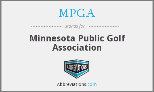 MPGA - Minnesota Public Golf Association