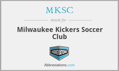 MKSC - Milwaukee Kickers Soccer Club