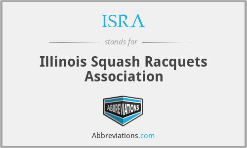 ISRA - Illinois Squash Racquets Association