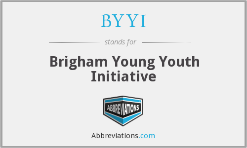 BYYI - Brigham Young Youth Initiative