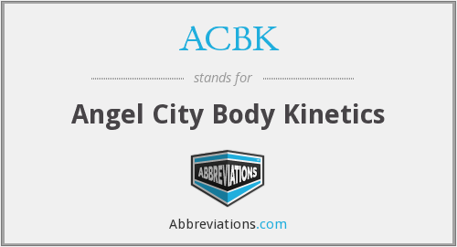 ACBK - Angel City Body Kinetics