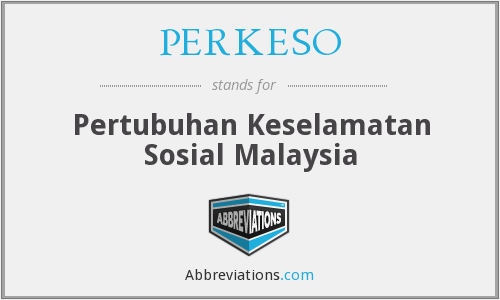 What does PERKESO stand for?