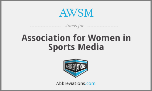 AWSM - Association for Women in Sports Media