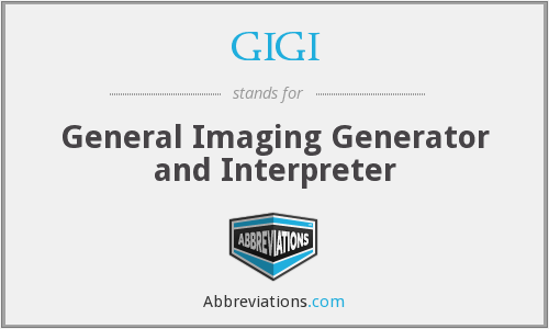GIGI - General Imaging Generator and Interpreter