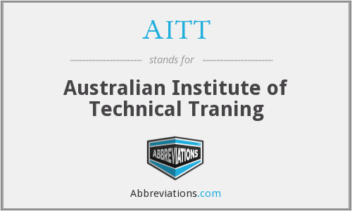 AITT - Australian Institute of Technical Traning