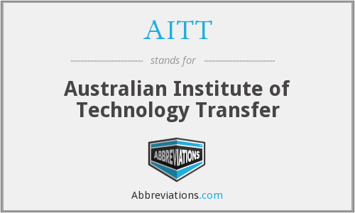 AITT - Australian Institute of Technology Transfer