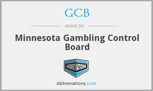 GCB - Minnesota Gambling Control Board
