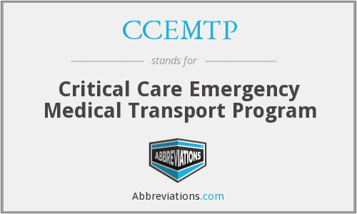 What does CCEMTP stand for?