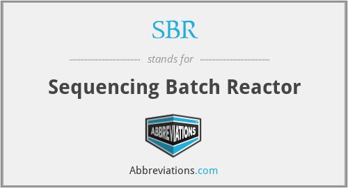 SBR - Sequencing Batch Reactor