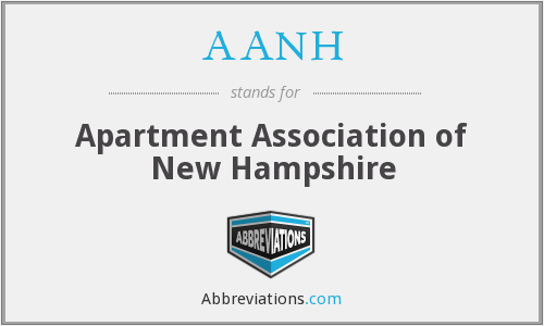 AANH - Apartment Association of New Hampshire