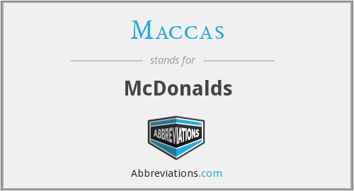 What does MACCAS stand for?