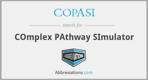 COPASI - COmplex PAthway SImulator