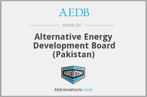 AEDB - Alternative Energy Development Board (Pakistan)