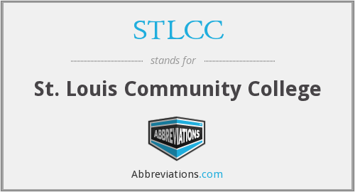 What does STLCC stand for?