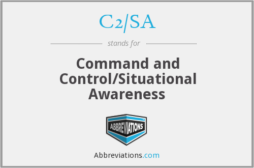 What does C2/SA stand for?
