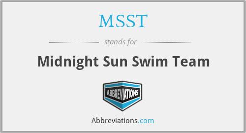 MSST - Midnight Sun Swim Team
