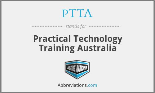 PTTA - Practical Technology Training Australia