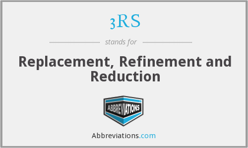 3RS - Replacement, Refinement and Reduction