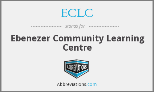 ECLC - Ebenezer Community Learning Centre
