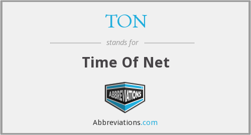 TON - Time Of Net