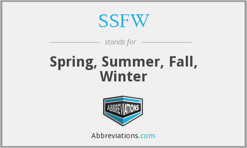 What does SSFW stand for?