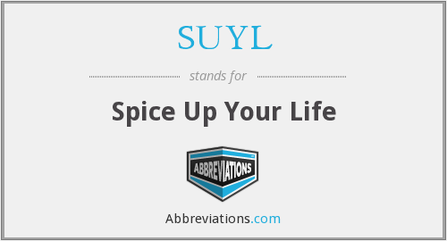 SUYL - Spice Up Your Life