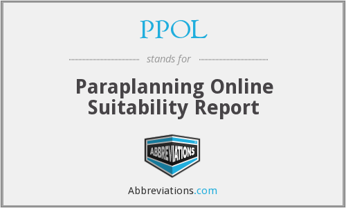 What does PPOL stand for?