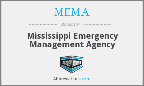 MEMA - Mississippi Emergency Management Agency
