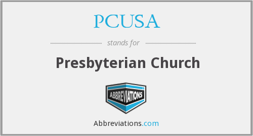 What does PCUSA stand for?