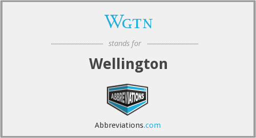 What does WGTN stand for?
