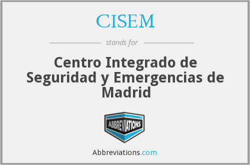 What does CISEM stand for?