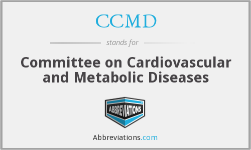 CCMD - Committee on Cardiovascular and Metabolic Diseases