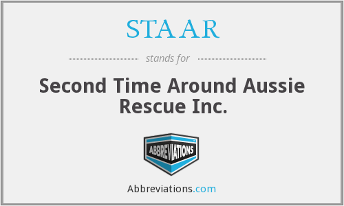 STAAR - Second Time Around Aussie Rescue Inc.