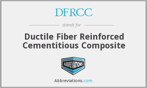 What does DFRCC stand for?