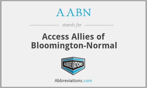 AABN - Access Allies of Bloomington-Normal