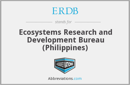What does ERDB stand for?