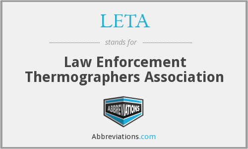 LETA - Law Enforcement Thermographers Association