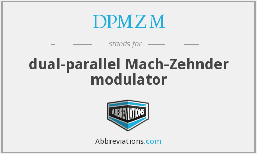 What does DPMZM stand for?