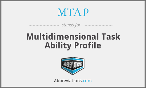 MTAP - Multidimensional Task Ability Profile