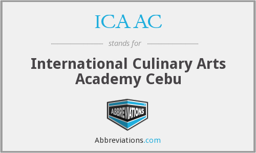 ICAAC - International Culinary Arts Academy Cebu