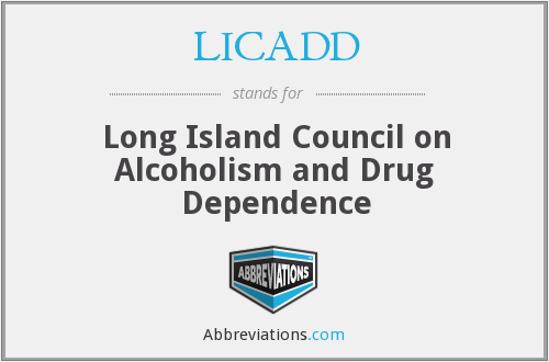 LICADD - Long Island Council on Alcoholism and Drug Dependence