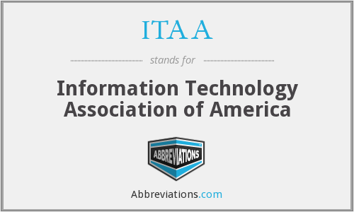 ITAA - Information Technology Association of America