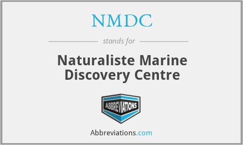 NMDC - Naturaliste Marine Discovery Centre
