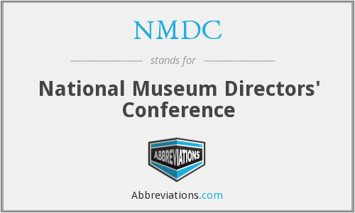 NMDC - National Museum Directors' Conference