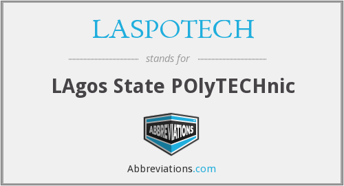 What does LASPOTECH stand for?