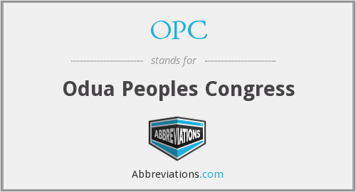 OPC - Odua Peoples Congress