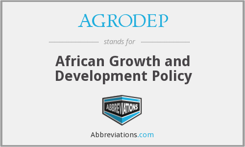 AGRODEP - African Growth and Development Policy