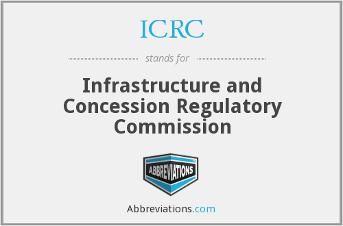 ICRC - Infrastructure and Concession Regulatory Commission